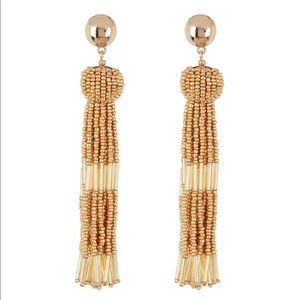 NWT Vince Camuto Beaded Tassel Earrings